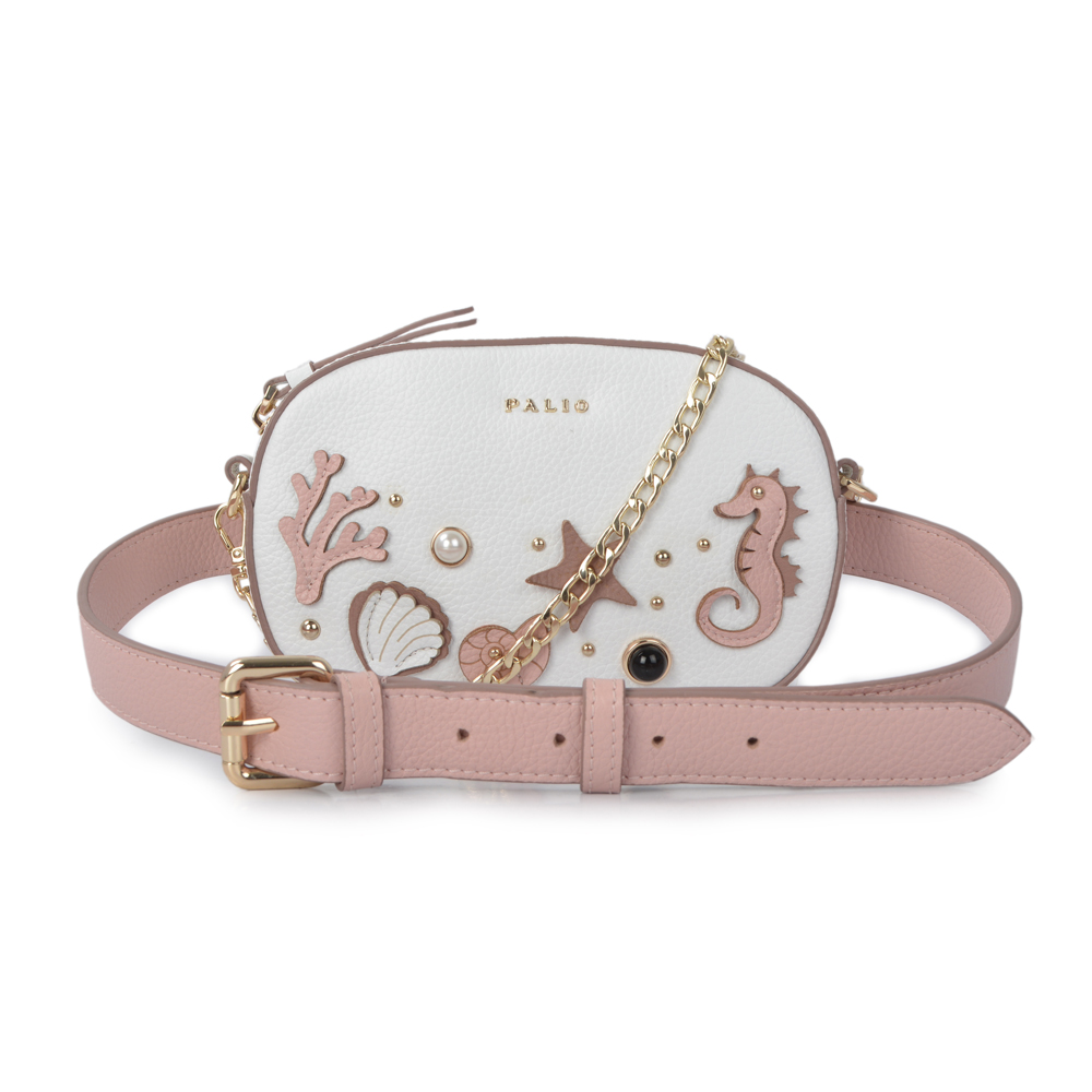 New Cute Cartoon Leather Women Small Chain Clutch Crossbody bags