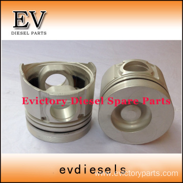 DOOSAN excavator engine piston DB58 piston ring