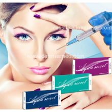 Injectable Cross Linked Hyaluronic Acid Dermal Filler