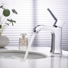 Supply for Black Basin Faucet HIDEEP Full Copper Chrome Basin Faucet export to Japan Exporter