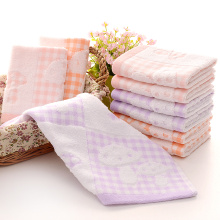Kids 6 Piece Washcloth Set Cotton Square Towel