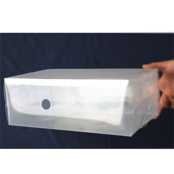 Transparent Clear Plastic Shoe Storage Box Wholesale