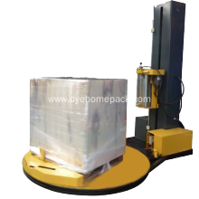 China for Automatic Pallet Wrapping Machine TP1800 fully automatic pallet stretch wrapper for sale supply to St. Pierre and Miquelon Factory