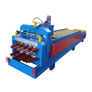 Color Steel Roofing Double Deck Roll Forming Machine