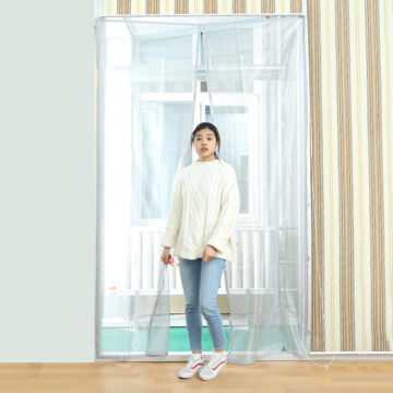 Magnetic soft screen door anti mosquito