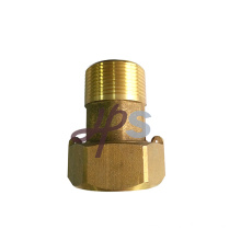 Forging brass water meter fitting/gasket