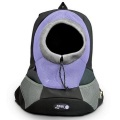 Lilac Small PVC and Mesh Pet Backpack