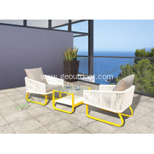 Garden wicker furniture with aluminum popular furniture