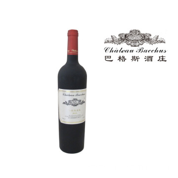New Arrival for Dry Red Wine Chateau Bacchus 2011 Class A Merlot Dry red wine export to United Kingdom Manufacturers