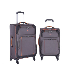 Nylon Travel Business Suitcase Soft Internal Trolley luggage
