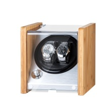 bamboo wooden watch winder with acrylic window