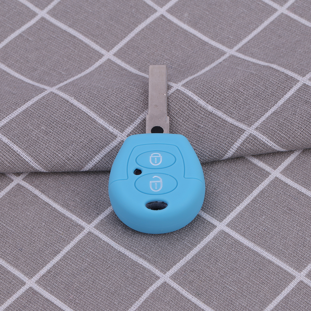 vw silicone car key holder