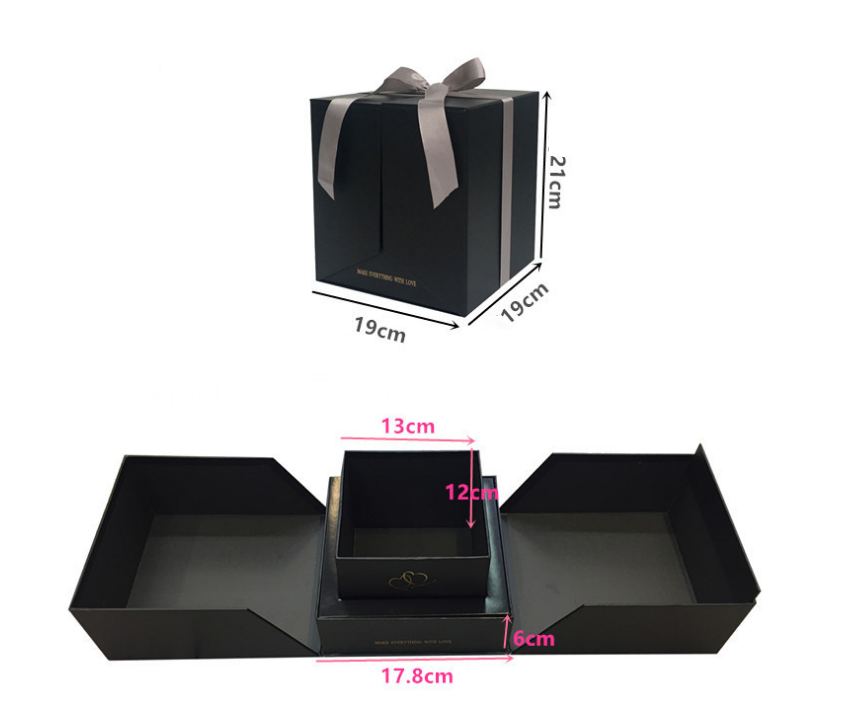 Luxury cardboard flower box designs