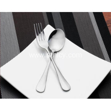 4-Piece Stainless Steel Dinnerware Set