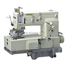 13-needle Flat-bed Double Chain Stitch Sewing Machine