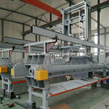 Self Cleaning Low Pressure Membrane Filter Press