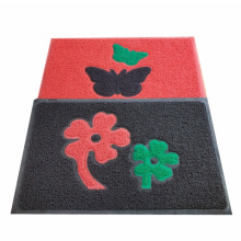 Foam backing joint flower pattern coil mat