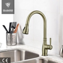 Yellow Bronze Hot Cold Water Kitchen Tap Faucets