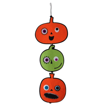Halloween pumpkin hanging decoration
