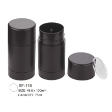 Round Empty Plastic Foundation Stick Case Container Packaging