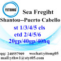 Shantou Logistics Services to Puerto Cabello