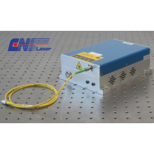 Frequency Selecting Fiber Pulse Laser