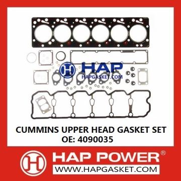 Cummins Upper Head Gasket Set 4090035