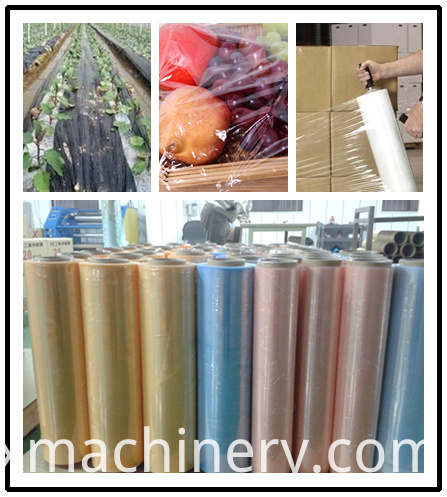 automatic cling film production line
