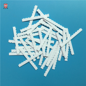insulated 96 alumina ceramic laser cutting strip substrate