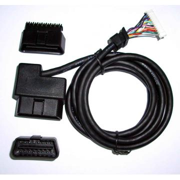 Direct wire harness for pioneer general motors