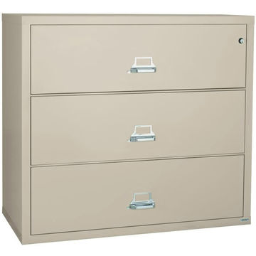 Office furniture metal lateral 3 drawer file cabinet