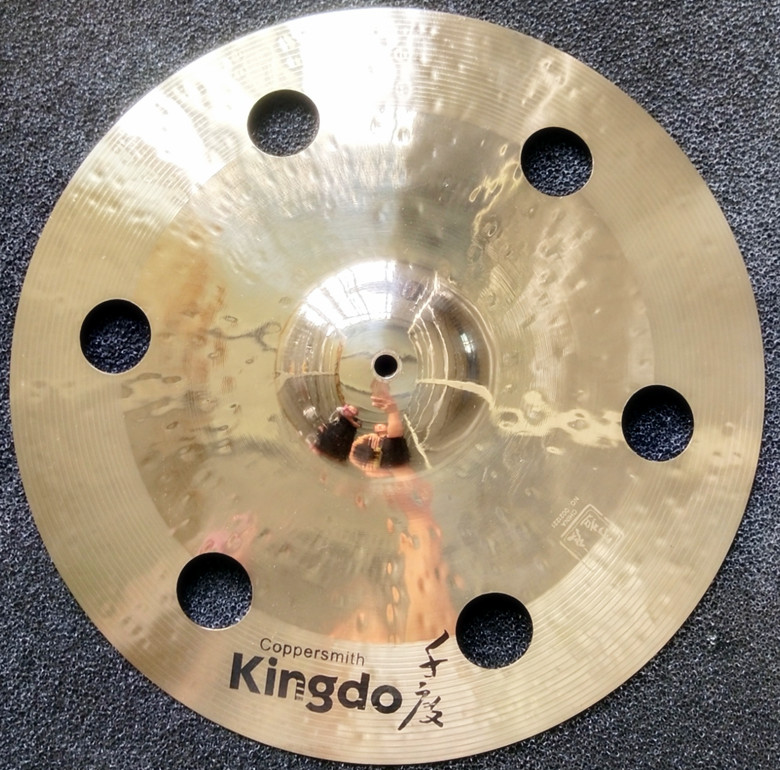 16'' B20 O-ZONE Crash Cymbals For Drums