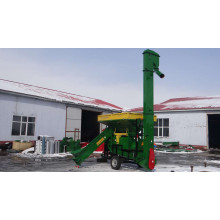Corn maize thresher with diesel engine power