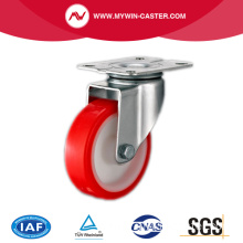 Light Duty Red PU Industrial Caster