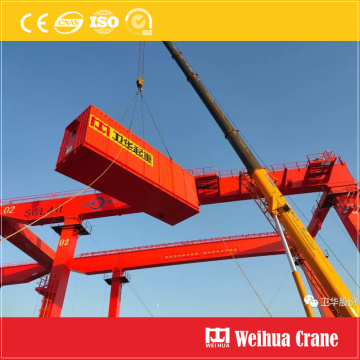 Remote Semi-Automatic RMG Crane