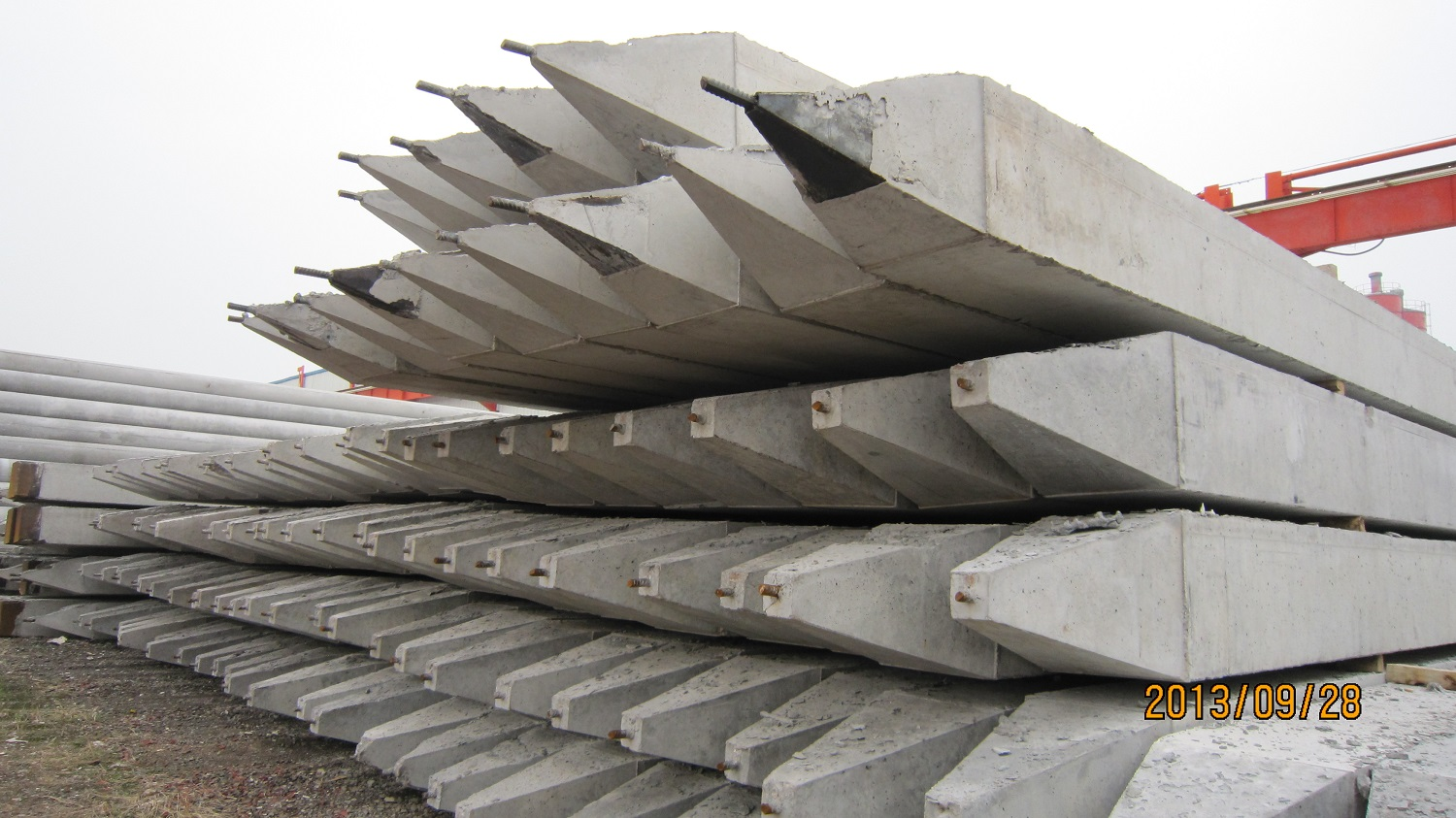 Pre-Stressed Solid Square Pile Mould-1