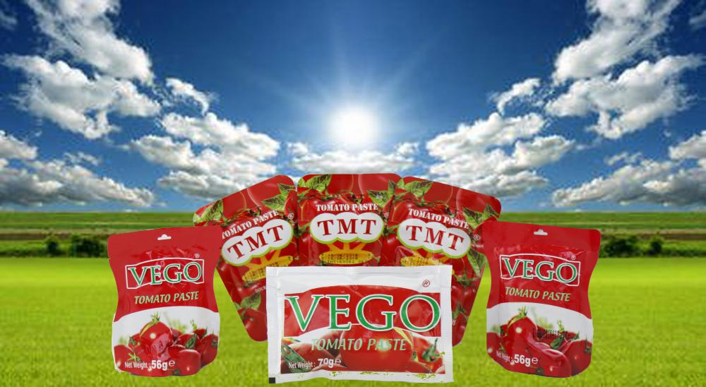 Hot Selling Tomato Paste 70g to 4500g