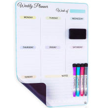 Dry Erase Vertical Weekly Calendar for Fridge