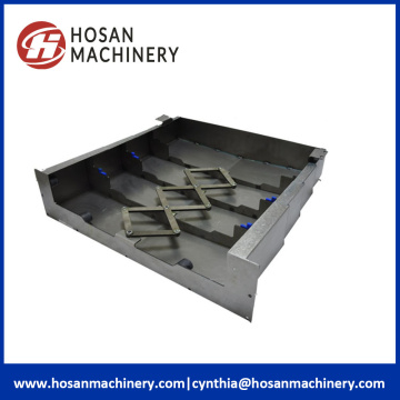 CNC Machine Telescopic Steel Plate Accordion Bellows Covers