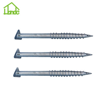 Various Styles Triangle Flange Ground Screw