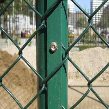 Football stadium temporary construction fence