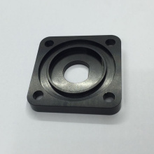 Custom Black Anodized Aluminum Fittings