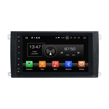 in dash car dvd player per Cayenne 2003-2010