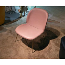 Fully Upholstered replica Gubi Beetle Lounge Chair