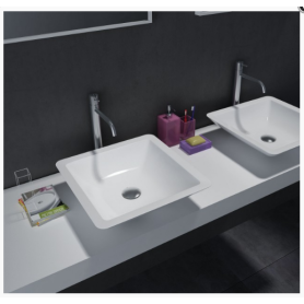 constructions use counter top resin basin