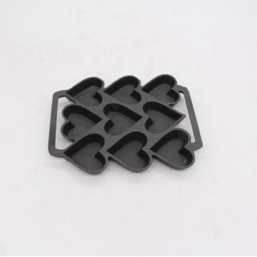 Cast Iron Bakeware With Heart Shape