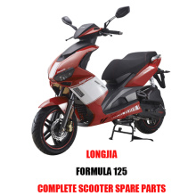LongJia FORMULA 125 Complete Scooter Spare Parts Original Quality