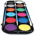 Face Painting Party Set with Professional Brushes Stencils