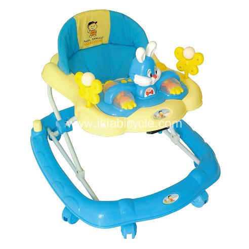 Safe Plastic Rolling Baby Walkers