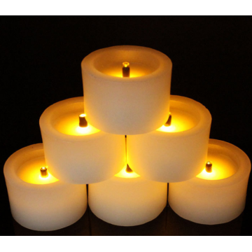 Supplier for Remote Control Battery LED Candle Flameless Led Candle Tealight supply to Nepal Suppliers